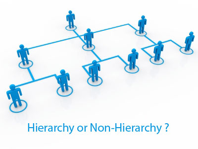 Good leadership hierarchical or non hierarchical