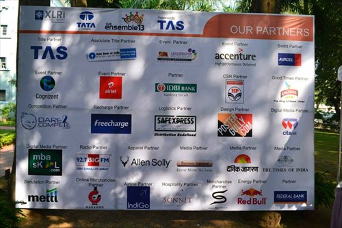 Sponsors board on campus