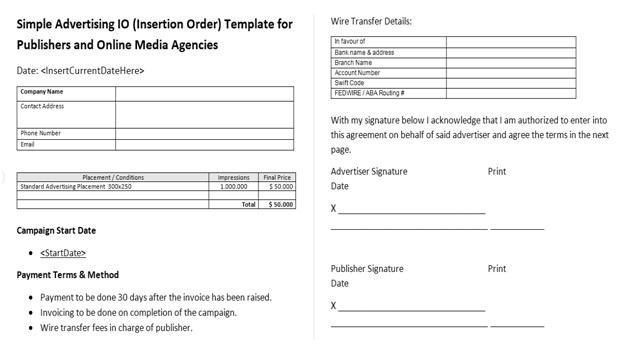 Insertion order template – 12+ free excel, pdf documents download.