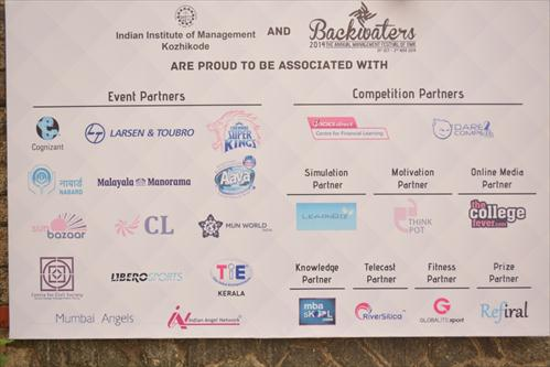 Sponsors at the event