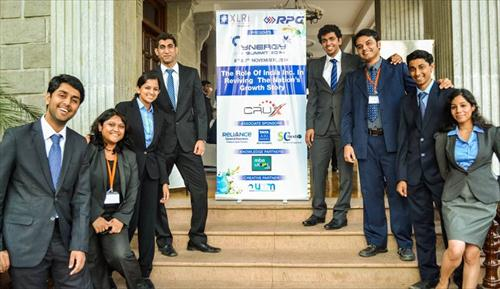 Students at the XLRI Synergy 2014 event