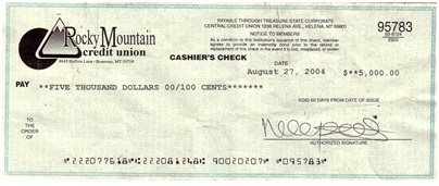 Cashier's Check Definition | Finance Dictionary | MBA ...