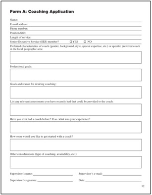 an example of an application form - Hr Form