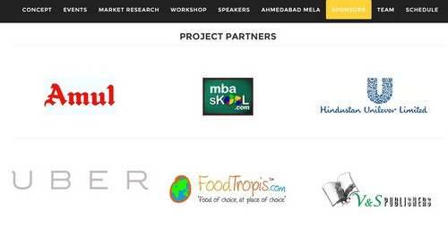 Project Partners of IIMA Insight