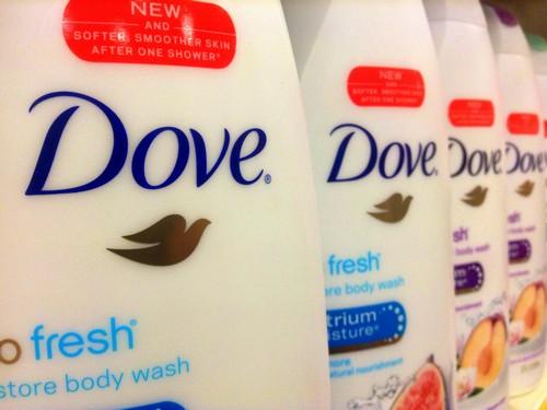 marketing mix of dove shampoo