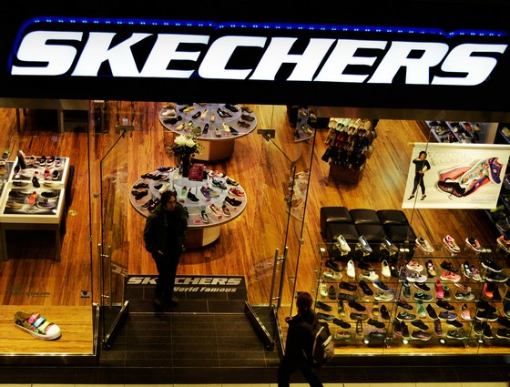 Rank 6 Skechers : Top 10 Sports Brands in the World 2017