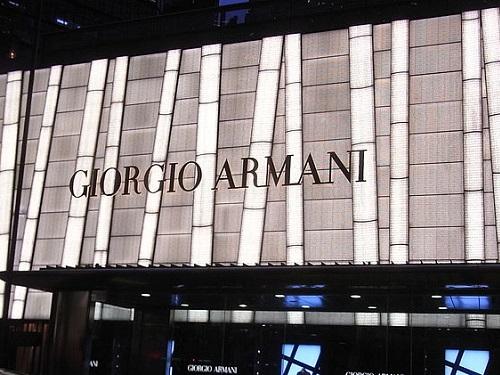 2679ba841753 Giorgio Armani Marketing Mix (4Ps) Strategy