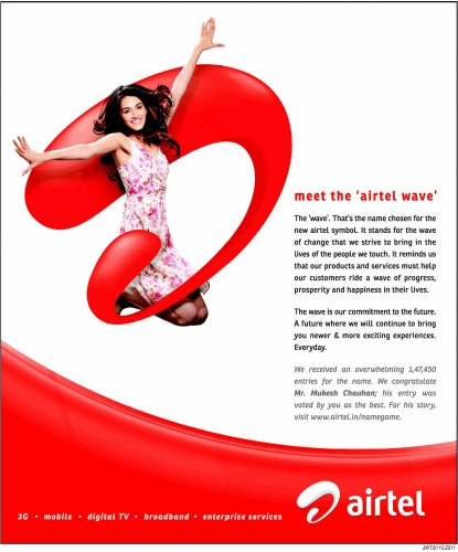 airtel advertising options