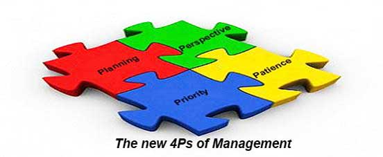 New Four Ps of Management