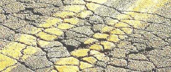 Bad Roads in India Bad Roads