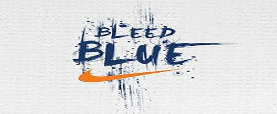 Bleed Blue Campaign by Nike