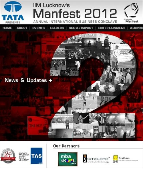 IIML Manfest 2012 Website