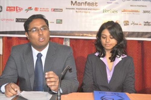 Students at IIML Manfest 2012