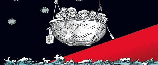 Eurozone sinking