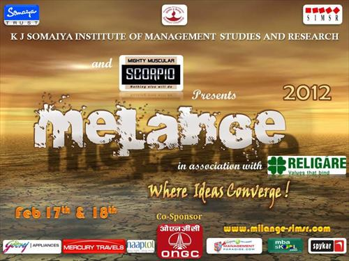 Melange 2012 Official Poster