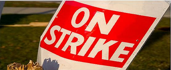 On Strike ?