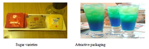 Sugar Varieties Attractive Packaging